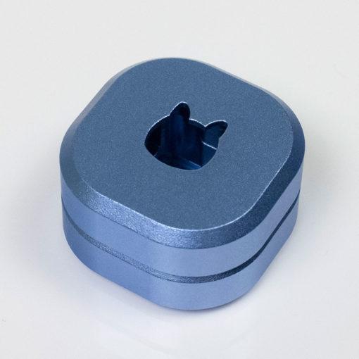 Kelowna 2 piece Switch Opener Rounded Blue