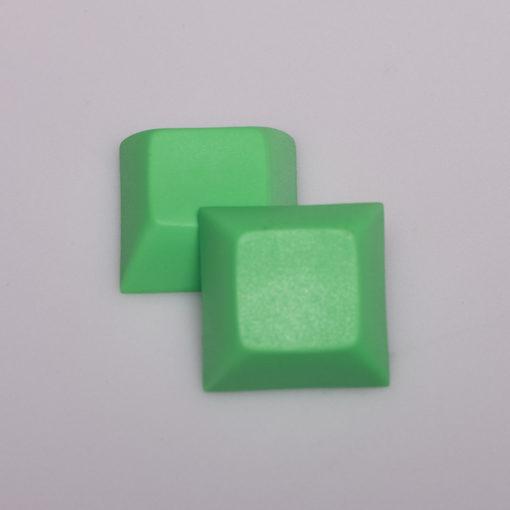 DSA Solid Color Green Keycaps