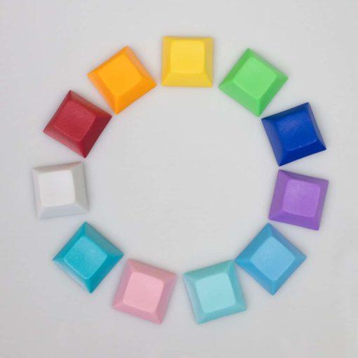 DSA Solid Color Keycaps Main