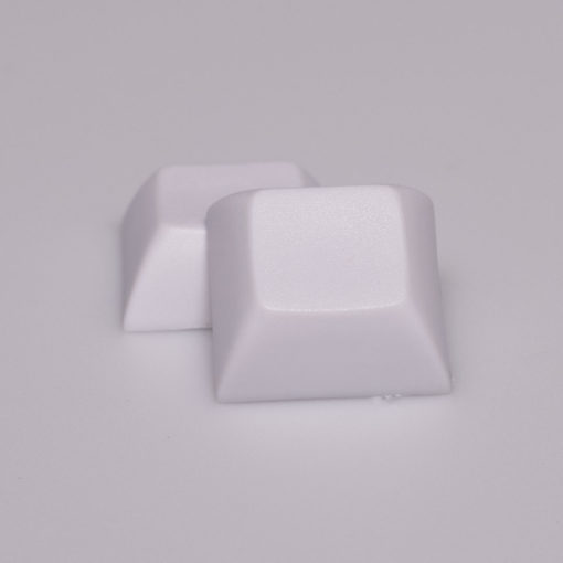 DSA Solid Color White Keycaps
