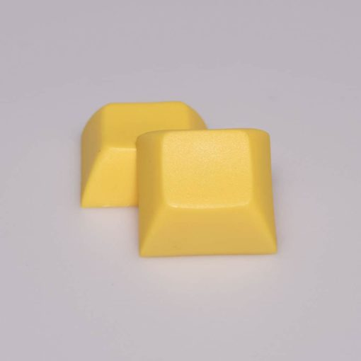 DSA Solid Color Yellow Keycaps