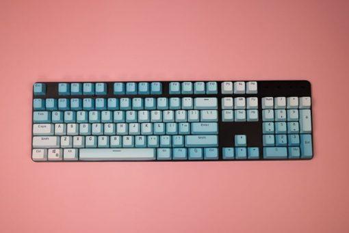 OEM Blue Frost PBT Keycaps Full
