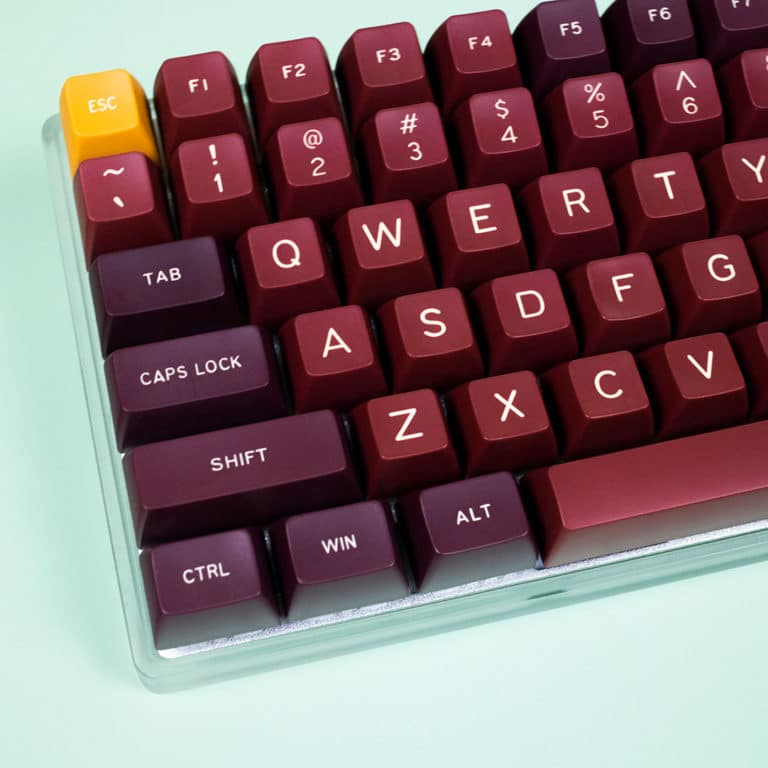 SA Royalty Doubleshot Keycaps