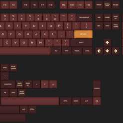 SA Royalty Doubleshot Keycaps Set