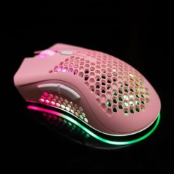 KSnake RGB Lightweight Mouse Pink