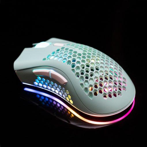KSnake RGB Lightweight Mouse Teal