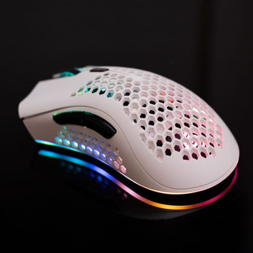 KSnake RGB Lightweight Mouse White