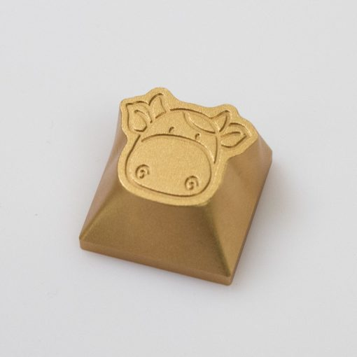 Limited Edition New Years Cow Keycaps by Kelowna