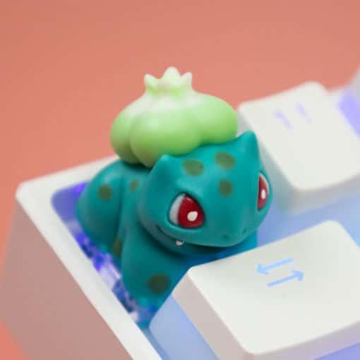 Bulbasaur Green Artisan Keycap