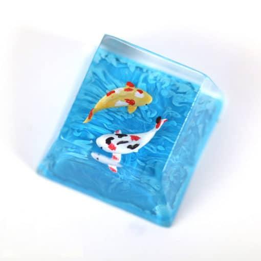 Koi Artisan Keycap Marine Blue