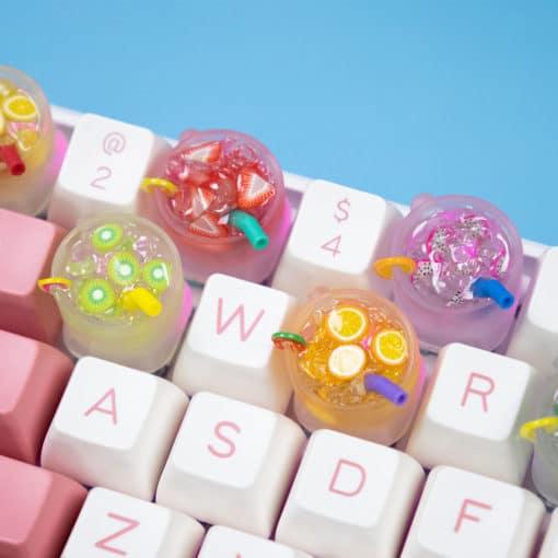 Summer Cooler Artisan Keycaps