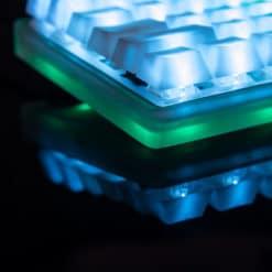 75 percent keyboard kit with RGB Underglow