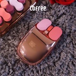 Lofree Wireless Mouse Rose Gold Close
