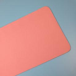 Pink RGB LED Deskmat Right