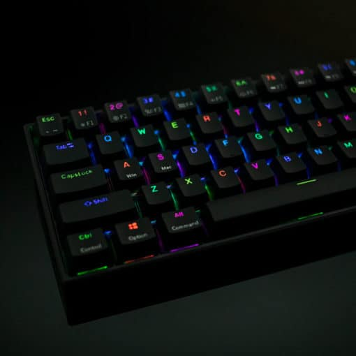Flashquark Horizon Z 60 percent mechanical keyboard black RGB
