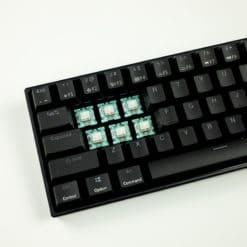 Flashquark Horizon Z 60 percent mechanical keyboard black switches
