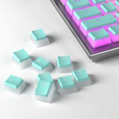 Mint Pudding Keycaps LEDs