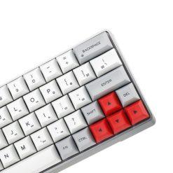 GK64x with Aluminum Case DSA Keycaps Right