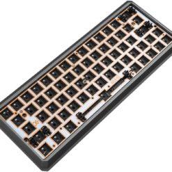 GK64xs Aluminum Case Hotswap 64 key keyboard