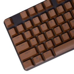 Stryker Mixable PBT Keycaps Coffee Main