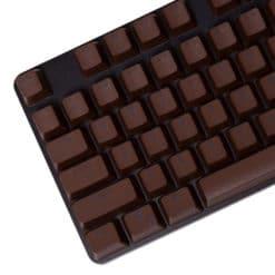 Stryker Mixable PBT Keycaps Dark Chocolate Main