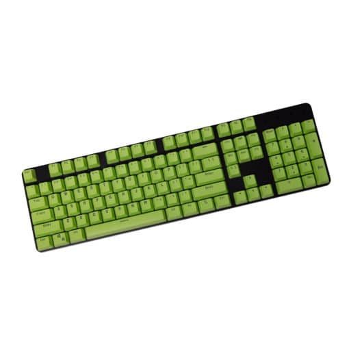 Stryker Mixable PBT Keycaps Lime Green Full