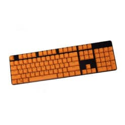 Stryker Mixable PBT Keycaps Orange Full