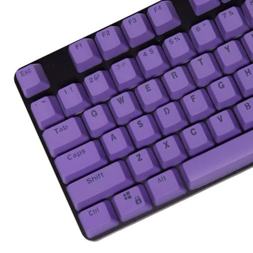 Stryker Mixable PBT Keycaps Purple Main