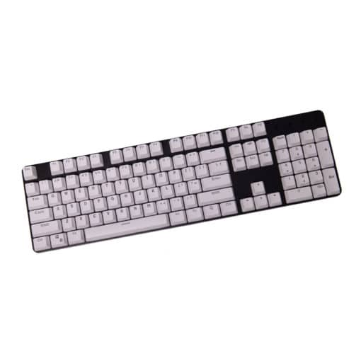 Stryker Mixable PBT Keycaps White Full