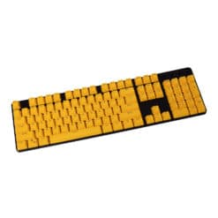 Stryker Mixable PBT Keycaps Yellow Full