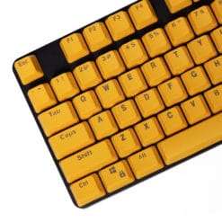 Stryker Mixable PBT Keycaps Yellow Main
