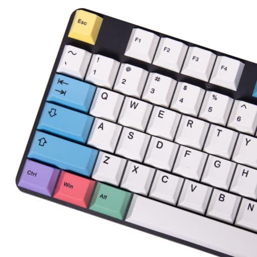 Cherry Profile Chalk PBT Keycaps Main