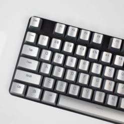 Electroplated Matte Silver Keycaps Main