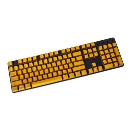 OEM Electroplated Metallic Matte Bronze Keycaps Full