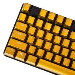 OEM Electroplated Metallic Matte Bronze Keycaps Main